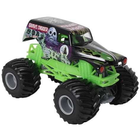 wheels grave digger monster truck 1 24 wheels grave digger truck