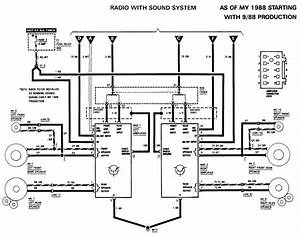 What Is The Radio Wiring Diagram For A 1990 300 Se