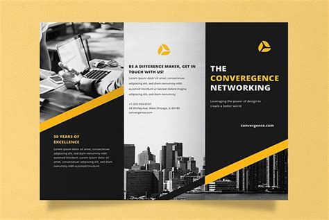 brochure templates  word tri fold  fold