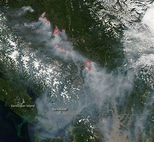 Smoke From British Columbia Fires Heading To The Coast