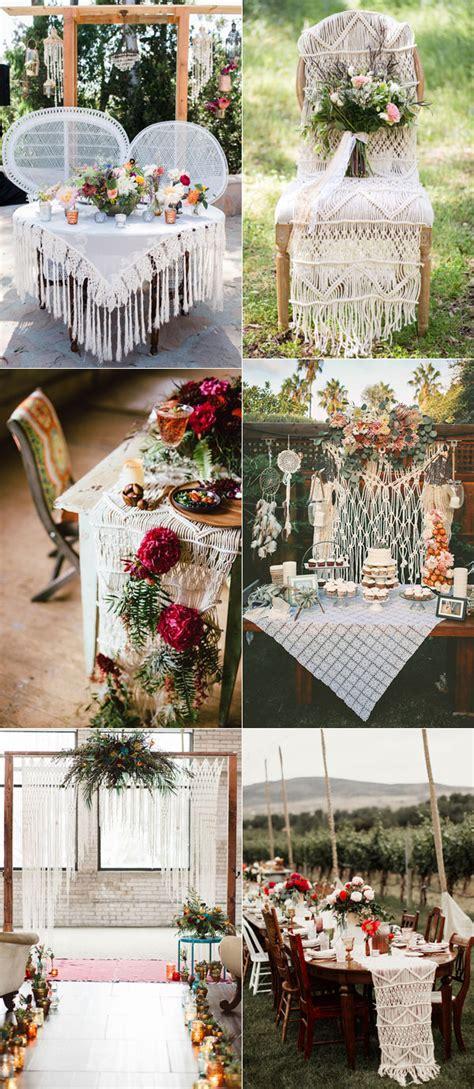 tips  plan romantic boho weddings