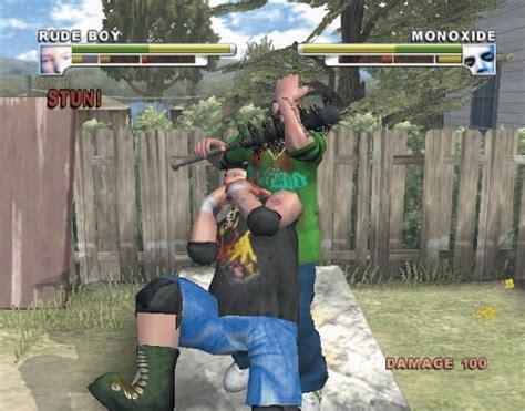 Backyard Wrestling Sony Playstation 2 Game