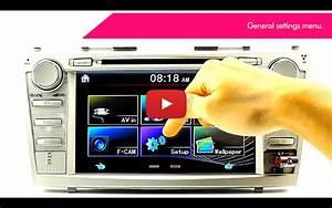 7 U0026quot  Toyota Corolla Verso Car Gps Dvd Player Head Unit Radio Stereo Usb Fascia Gt