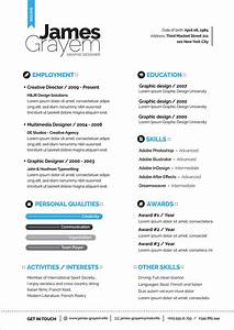 Creative Cv Layout Free Professional Resume Cv Template Cover Letter For