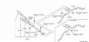 Nissan 300zx Switch Parking Brake Lamp  Cvt