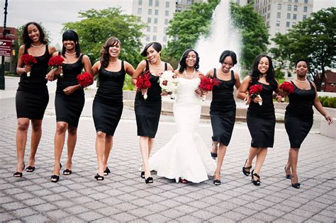 Black And White Wedding Dresses Is Our Choice Of The Month