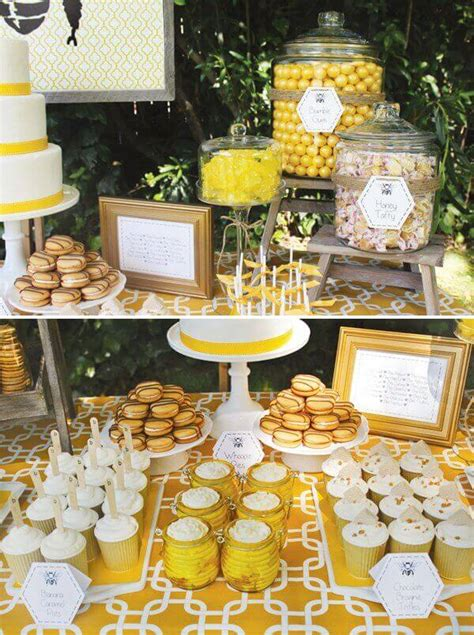 Bee Themed First Birthday {boy Party Ideas} Spaceships
