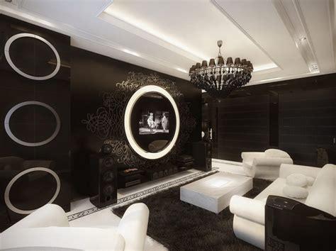 d馗oration chambre noir et blanc décoration appartement noir et blanc