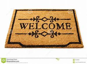 Welcome Mat Royalty Free Stock Images - Image: 18236809