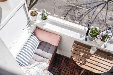 Kleiner Balkon Einrichten by Unser Kleiner Mini Balkon Tipps Einrichten Staufl 228 Che