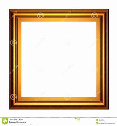 Square Frame Gold 3d Dreamstime
