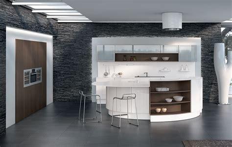 cuisines blanches design cuisine design blanche avec îlot