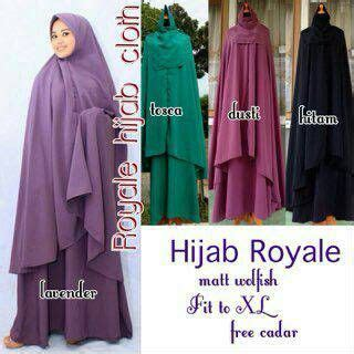 jual supplier baju hijab royale syari jumbo cadar hq
