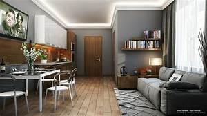 amenager une cuisine ouverte sur salle a manger With idee deco cuisine avec mobilier salle À manger contemporain
