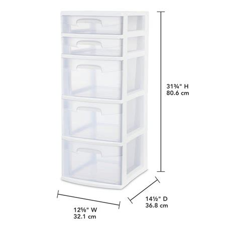 sterilite 5 drawer wide tower white sterilite 5 drawer tower white best desktop drawer