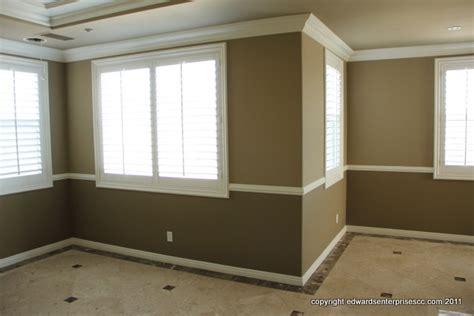 paint colors for bedrooms with chair rail chair rail in bedroom for
