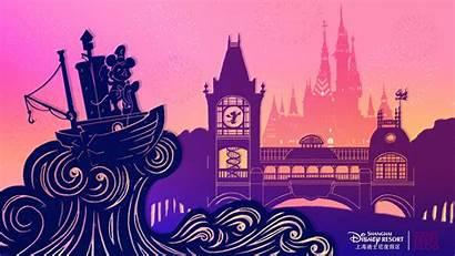 Shanghai Disneyland Disney Desktop Wallpapers Opening Celebrate