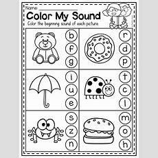 Mega Phonics Worksheet Bundle  Prek Kindergarten
