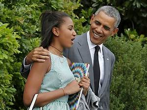 President Barack Obama Has Father-Daughter Weekend in NYC ...