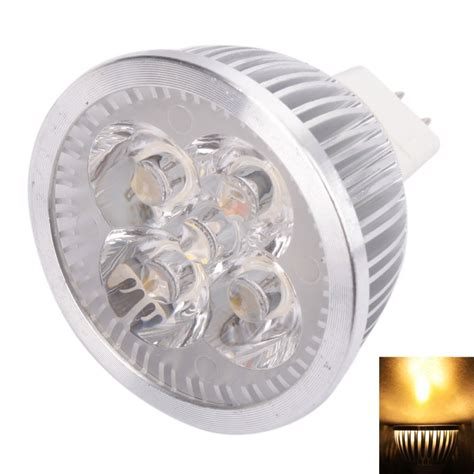 mr16 4w 4 led 320 lumen warm white light led spotlight