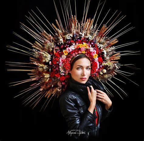 traditional floral crowns celebrate ukrainian