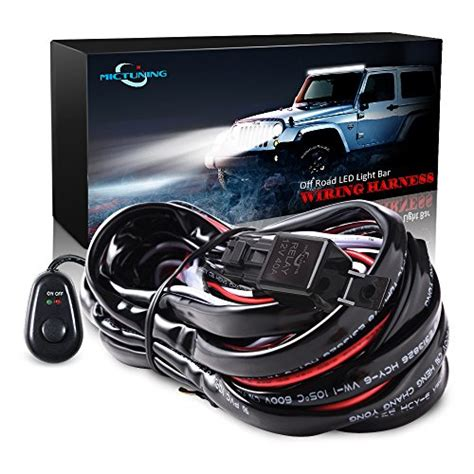 Mictuning Wiring Harness Kit For Off Road Led Work
