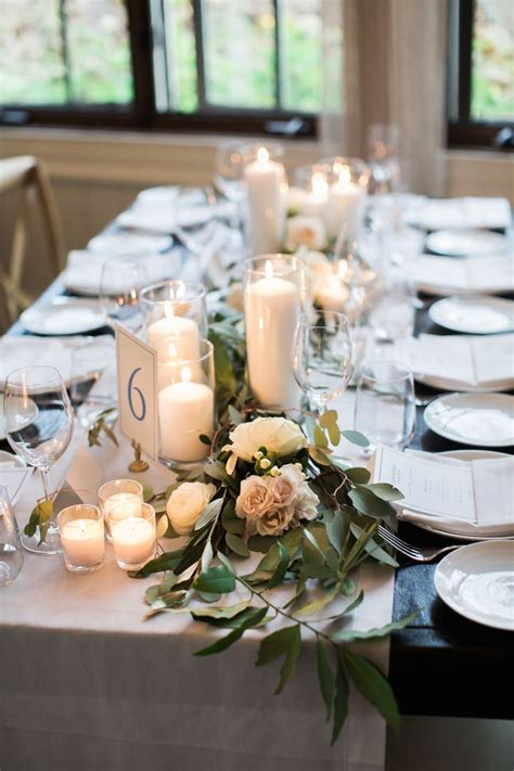wedding table decor 25 best ideas about wedding table garland on