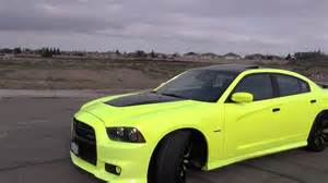 2012 dodge charger blacked out neon paint srt8 charger