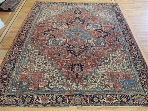 10 x 12 area rugs stunning antique heriz serapi 9x12 10x12