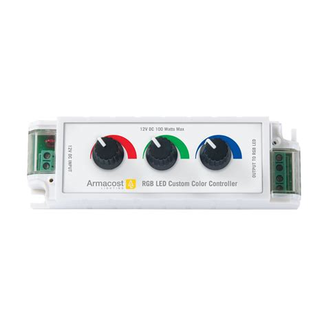 custom color rgb led lighting controller armacost lighting
