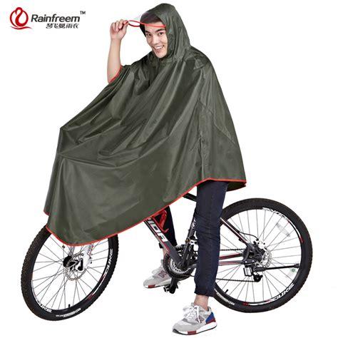 bicycle raincoat rainfreem impermeable raincoat women men thick bicycle