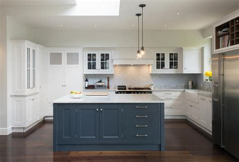 blue and white kitchen cabinets white kitchen cabinets blue island quicua com