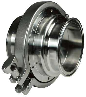 ss tri clamp spring loaded check valve
