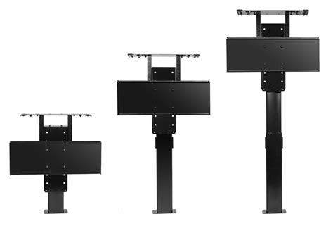 build your own tv lift lcd lift our compact afordable lcd lift nexus 21