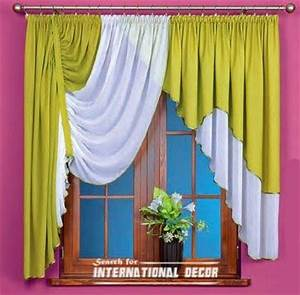 unique curtain designs french curtain models in green With unique kitchen curtain ideas