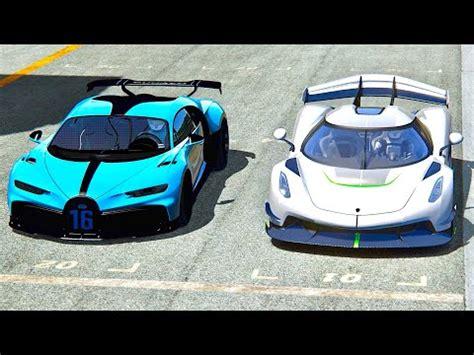 Nardo top speed battle video produced by assetto corsa. Bugatti Chiron Pur Sport vs Koenigsegg Jesko - Highlands - YouTube