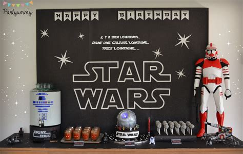star wars table l pin bon anniversaire joyeux rebecca five non blondes