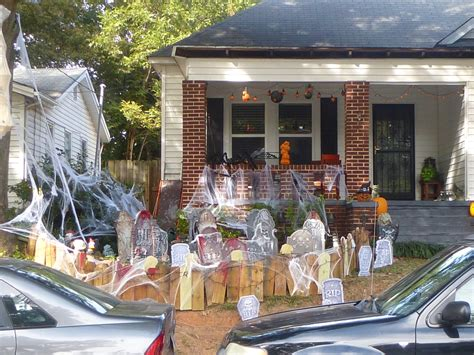 Halloween Decorations, Atlanta  My Search For Magic