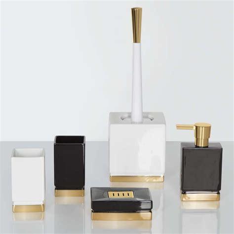 badezimmer ausstatter spirella wc bürste toilettenbürste roma gold badlux