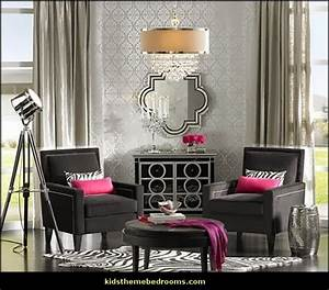 Decorating theme bedrooms maries manor old hollywood for Old hollywood style furniture