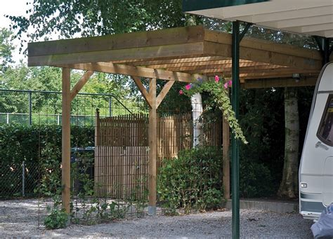 Port Side Garage by Single Lean To Or Freestanding Timber Carport