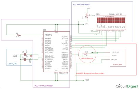 Digital Thermometer Using Pic Microcontroller Dsb