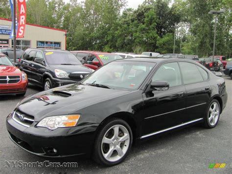 subaru legacy black 2006 subaru legacy 2 5 gt limited sedan in obsidian black