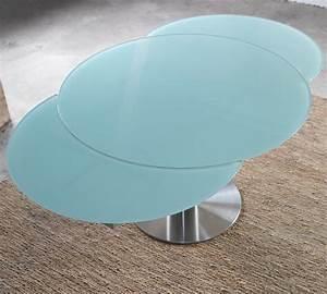 Glastisch Rund 50 Cm : esstisch rund 90 cm durchmesser innenr ume und m bel ideen ~ Indierocktalk.com Haus und Dekorationen