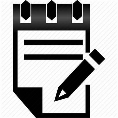 Icon Notes Record Pen Plan Records Task