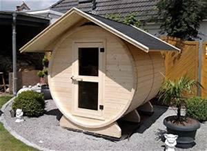 Gartensauna Mit Dusche : platzsparende sauna im fass wohnen news f r heimwerker ~ Whattoseeinmadrid.com Haus und Dekorationen