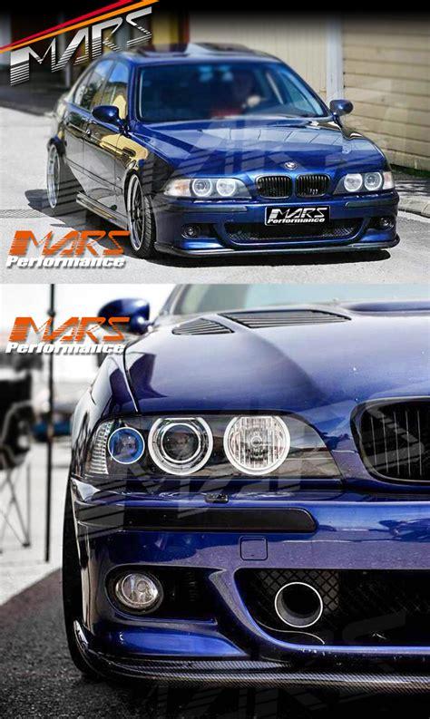 hamann  style front bumper carbon fiber lip  bmw