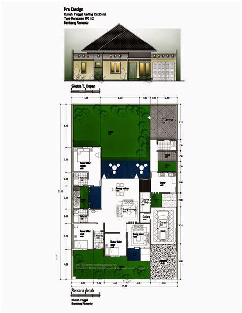 desain rumah minimalis empat kamar tidur desain rumah