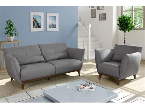 canapé fauteuil canapé et fauteuil en tissu gris ou bleu nuit luanda