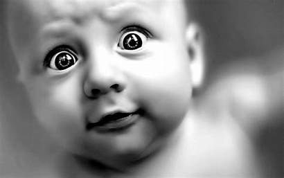 Babies Wallpapers Laughing Child Silly Born Eyes